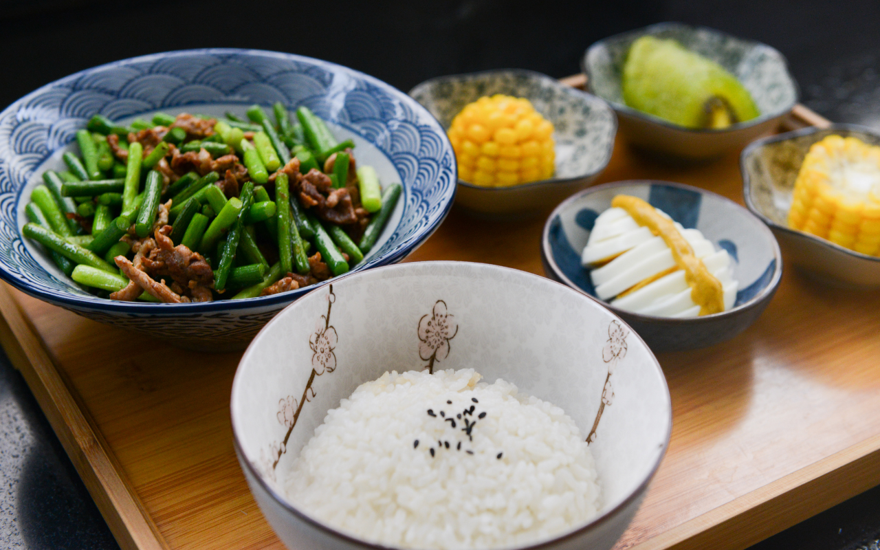 how to cook white rice in bowl