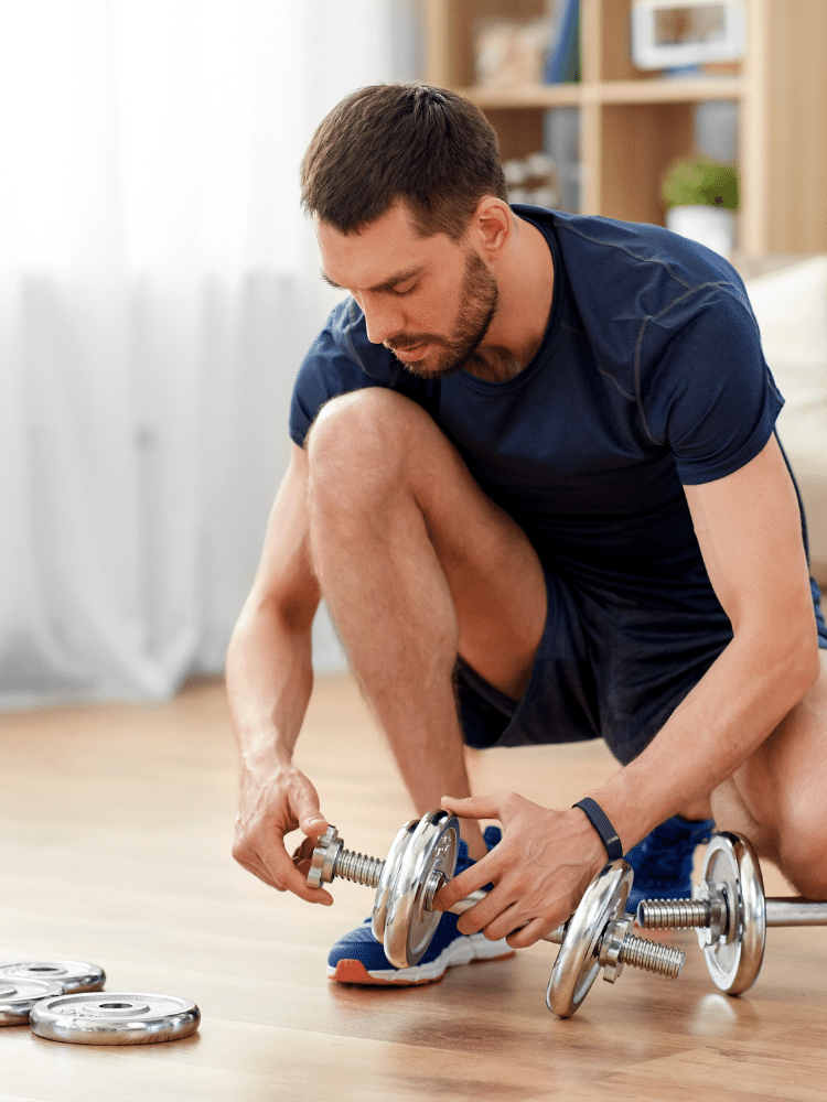 lose belly fat workout at home