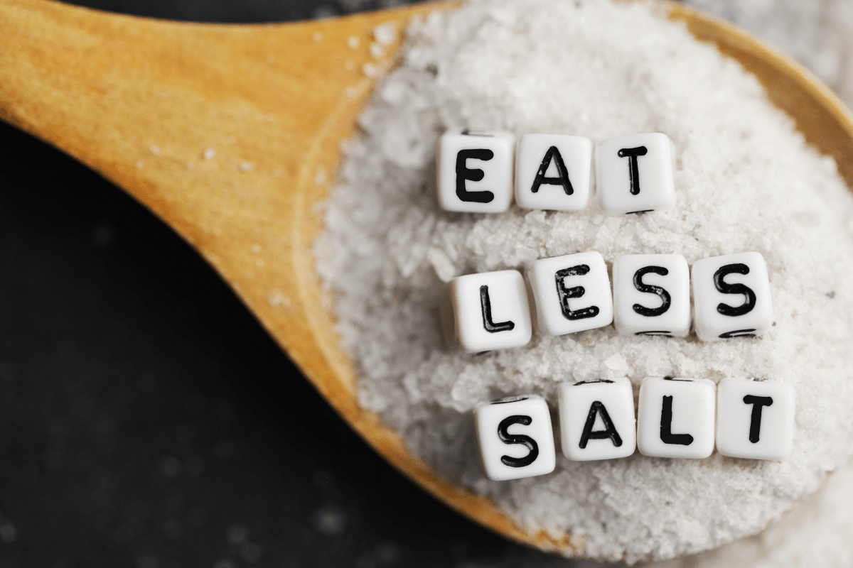 how much salt per day is healthy