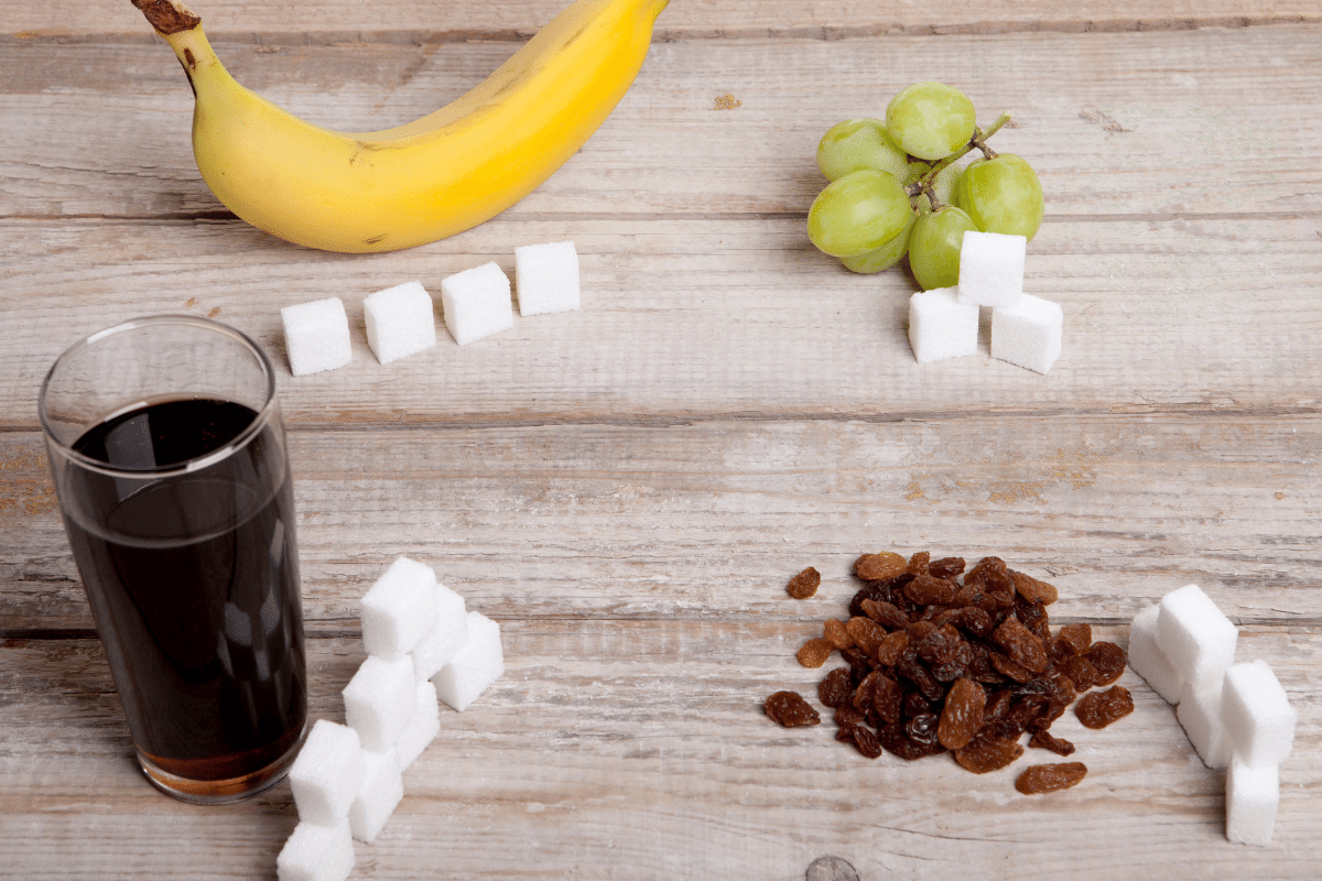 how much sugar per day grams