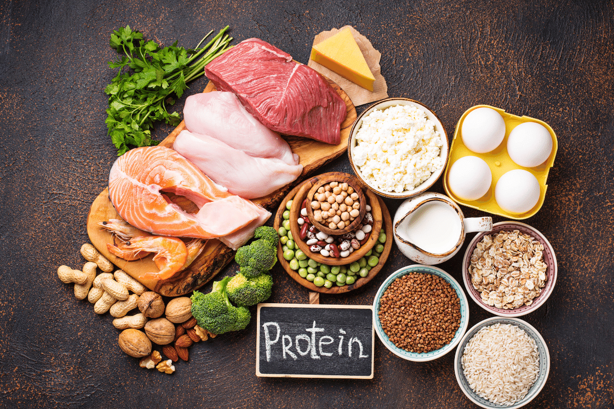 how much protein per day calculator
