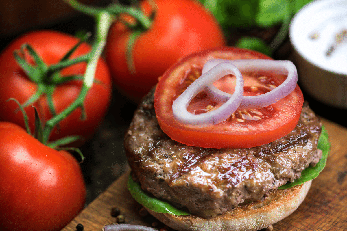 recipe for burgers with ground beef